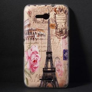 Gelový obal na Sony Xperia E4g - Eiffelova věž - 1