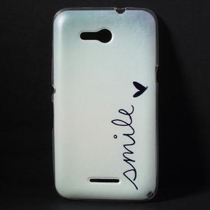 Gelový obal na Sony Xperia E4g - smile - 1