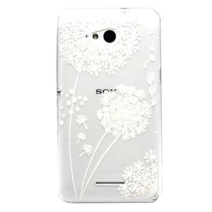 Vzorový gelový obal na Sony Xperia E4g - pampeliška - 1
