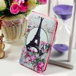 Peněženkové pouzdro na Sony Xperia E4g - Eiffelova věž - 1/7