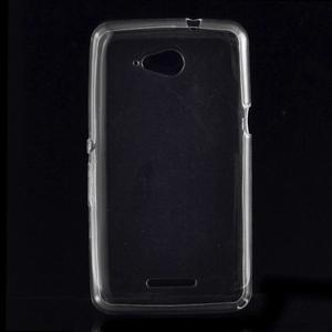 Ultra tenký gelový obal na Sony Xperia E4g - transparentní - 1