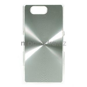 Metalický kryt na Sony Xperia Z3 Compact - stříbrný - 1