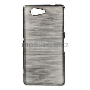 Broušený obal na Sony Xperia Z3 Compact D5803 - černý - 1