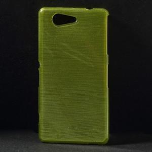 Broušený obal na Sony Xperia Z3 Compact D5803 - zelený - 1