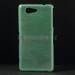 Broušený obal na Sony Xperia Z3 Compact D5803 - azurový - 1