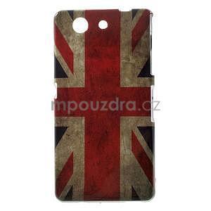 Gelový obal na Sony Xperia Z3 Compact - UK vlajka - 1