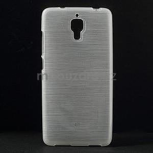 Broušený kryt na Xiaomi 4 MI4 - bílý - 1