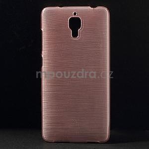 Broušený kryt na Xiaomi 4 MI4 - růžový - 1