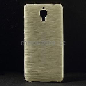 Broušený kryt na Xiaomi 4 MI4 - zlatý - 1