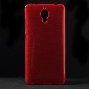 Broušený kryt na Xiaomi 4 MI4 - červený - 1