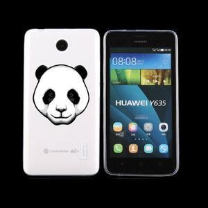 Animal gelový obal na Huawei Y635 - panda - 1