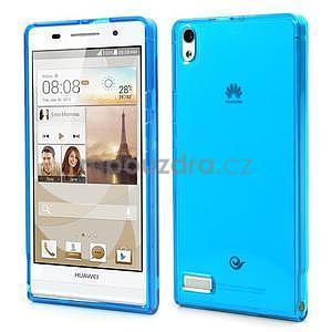 Gelové pouzdro na Huawei Ascend P6 - modré - 1