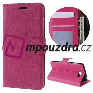 Clothy peněženkové pouzdro na Huawei Y5 II - rose - 1