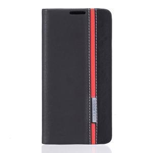 Klopové pouzdro na mobil Huawei Y6 II a Honor 5A - černé - 1