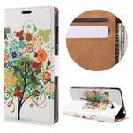 Emotive peněženkové pouzdro na Huawei Y6 II Compact - barevný strom - 1/7