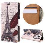 Emotive peněženkové pouzdro na Huawei Y6 II Compact - Eiffelova věž - 1/7