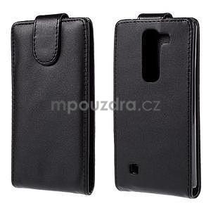 Černé flipové pouzdro na LG G4c H525n - 1