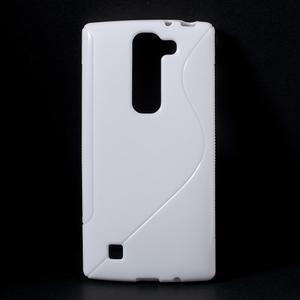 Bílý gelový obal S-line na LG G4c H525n - 1