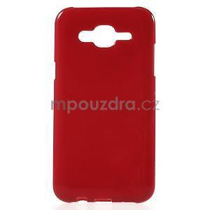 Červený gélový kryt pre Samsung Galaxy J5 - 1