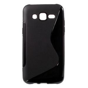 S-line gelový kryt na Samsung Galaxy J5 - černý - 1