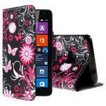 Safety pouzdro na mobil Microsoft Lumia 535 - motýlci - 1/5