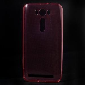 Ultratenký slim obal na Asus Zenfone 2 Laser - červený - 1