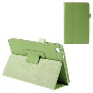 Koženkové pouzdro na tablet Asus ZenPad 7.0 Z370CG - zelené - 1