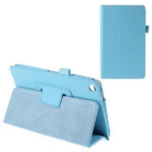 Koženkové pouzdro na tablet Asus ZenPad 7.0 Z370CG - světle modré - 1