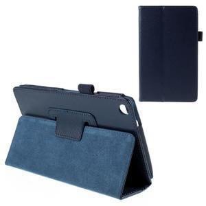 Koženkové pouzdro na tablet Asus ZenPad 7.0 Z370CG - tmavě modré - 1