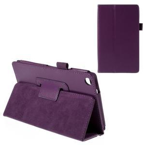 Koženkové pouzdro na tablet Asus ZenPad 7.0 Z370CG - fialové - 1