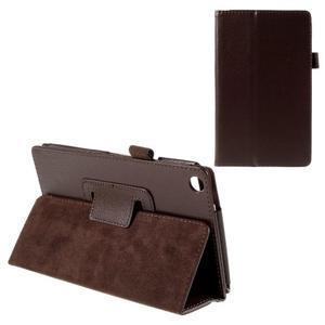 Koženkové pouzdro na tablet Asus ZenPad 7.0 Z370CG - coffee - 1