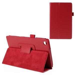 Koženkové pouzdro na tablet Asus ZenPad 7.0 Z370CG - červené - 1