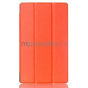 Třípolohové pouzdro na tablet Asus ZenPad 8.0 Z380C - oranžové - 1
