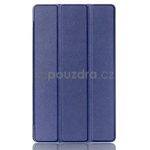 Třípolohové pouzdro na tablet Asus ZenPad 8.0 Z380C - tmavěmodré - 1