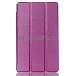 Třípolohové pouzdro na tablet Asus ZenPad 8.0 Z380C - fialové - 1