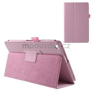 Safety polohovatelné pouzdro na tablet Asus ZenPad 8.0 Z380C - růžové - 1
