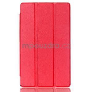 Třípolohové pouzdro na tablet Asus ZenPad 8.0 Z380C - červené - 1
