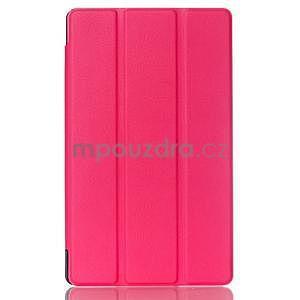 Třípolohové pouzdro na tablet Asus ZenPad 8.0 Z380C - rose - 1