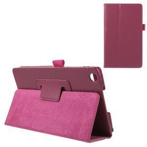 Safety koženkové pouzdro na Asus ZenPad C 7.0 Z170MG - rose - 1