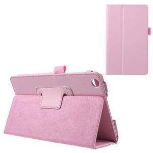 Safety koženkové pouzdro na Asus ZenPad C 7.0 Z170MG - růžové - 1