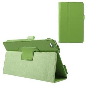 Safety koženkové pouzdro na Asus ZenPad C 7.0 Z170MG - zelené - 1