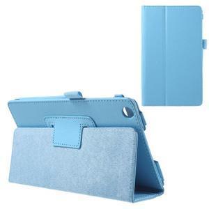 Safety koženkové pouzdro na Asus ZenPad C 7.0 Z170MG - světlemodré - 1