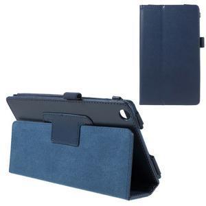 Safety koženkové pouzdro na Asus ZenPad C 7.0 Z170MG - tmavěmodré - 1