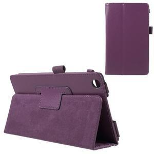 Safety koženkové pouzdro na Asus ZenPad C 7.0 Z170MG - fialové - 1