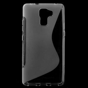 Transparentní gelový kryt S-line na Huawei Honor 7 - 1