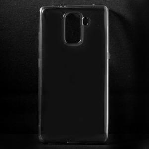 Transparentní gelový obal na telefon Honor 7 - šedý - 1