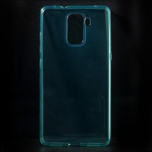 Transparentní gelový obal na telefon Honor 7 - azurový - 1