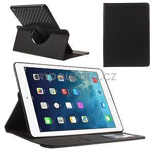 Circ otočné pouzdro na Apple iPad Air - černé - 1