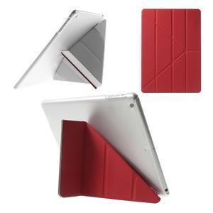 Origami ochranné pouzdro na Apple iPad Air - červené - 1