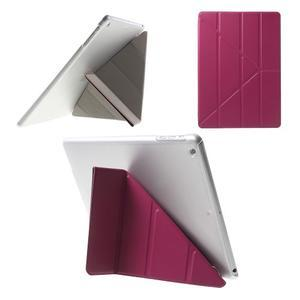 Origami ochranné pouzdro na Apple iPad Air - rose - 1